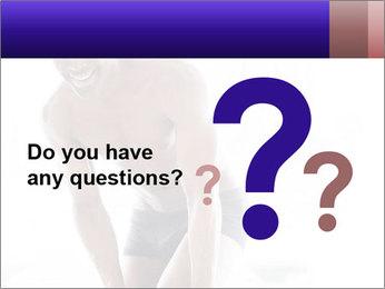 Hot African Man PowerPoint Template - Slide 96