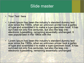 Green Forest PowerPoint Templates - Slide 2