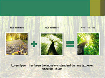 Green Forest PowerPoint Templates - Slide 22