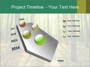 Green Forest PowerPoint Templates - Slide 26