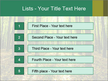 Green Forest PowerPoint Templates - Slide 3