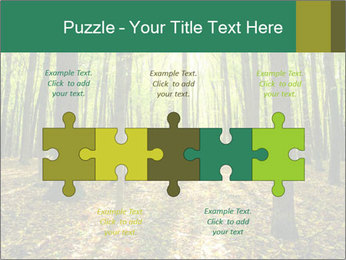 Green Forest PowerPoint Templates - Slide 41