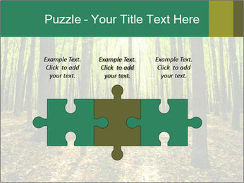 Green Forest PowerPoint Templates - Slide 42