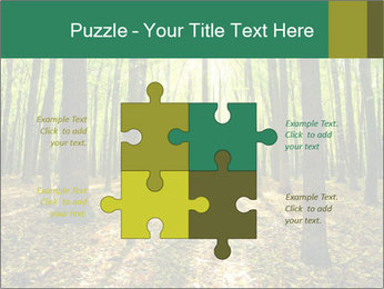 Green Forest PowerPoint Templates - Slide 43