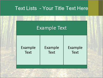 Green Forest PowerPoint Templates - Slide 59