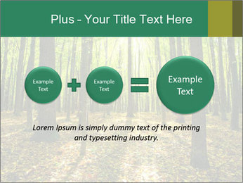 Green Forest PowerPoint Templates - Slide 75