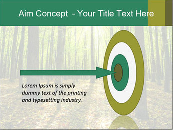 Green Forest PowerPoint Templates - Slide 83