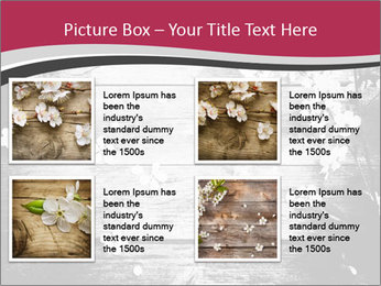Black And White Wooden Surface PowerPoint Templates - Slide 14