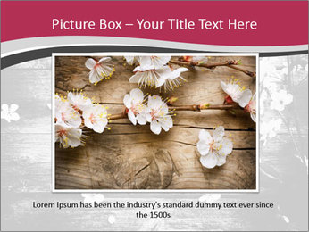Black And White Wooden Surface PowerPoint Templates - Slide 15