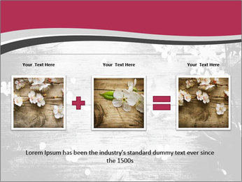 Black And White Wooden Surface PowerPoint Templates - Slide 22