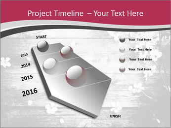 Black And White Wooden Surface PowerPoint Templates - Slide 26
