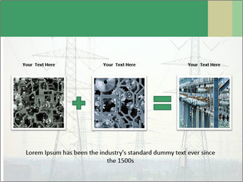Electricity Station PowerPoint Template - Slide 22