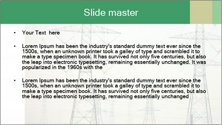 Electricity Station PowerPoint Template - Slide 2