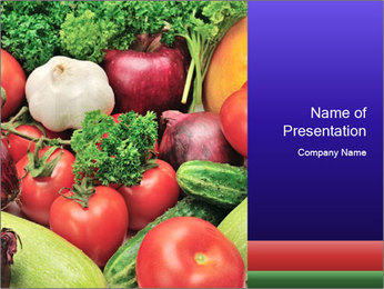 Healthy Vegetables PowerPoint Template