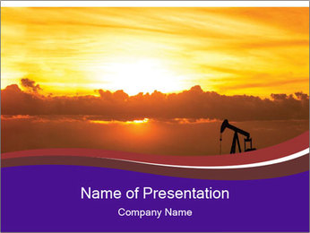 Oil Industry PowerPoint Templates - Slide 1