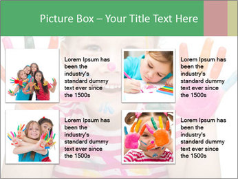 Creative Schoolgirl PowerPoint Template - Slide 14