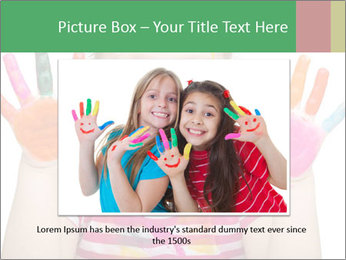 Creative Schoolgirl PowerPoint Template - Slide 15