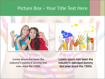 Creative Schoolgirl PowerPoint Template - Slide 18