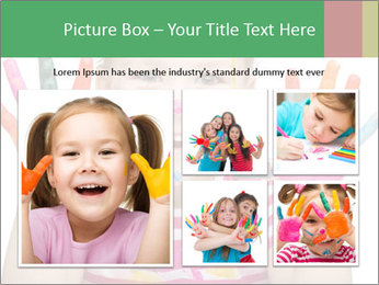 Creative Schoolgirl PowerPoint Template - Slide 19