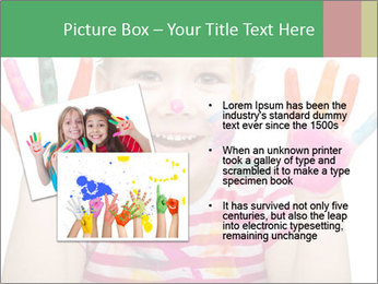 Creative Schoolgirl PowerPoint Template - Slide 20