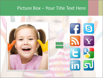 Creative Schoolgirl PowerPoint Template - Slide 21