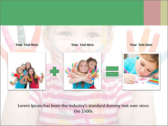 Creative Schoolgirl PowerPoint Template - Slide 22