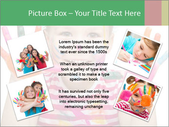 Creative Schoolgirl PowerPoint Template - Slide 24