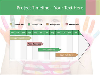 Creative Schoolgirl PowerPoint Template - Slide 25