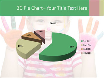 Creative Schoolgirl PowerPoint Template - Slide 35