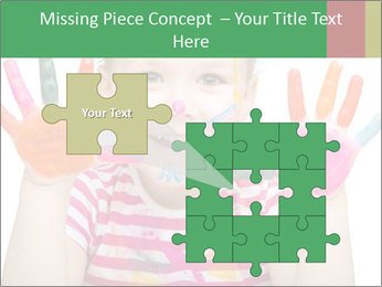 Creative Schoolgirl PowerPoint Template - Slide 45