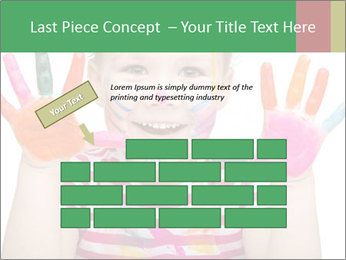 Creative Schoolgirl PowerPoint Template - Slide 46