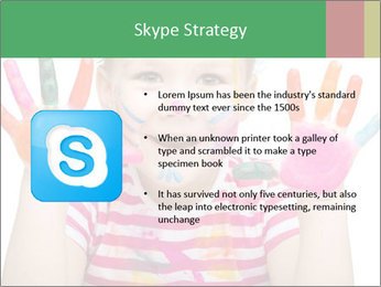 Creative Schoolgirl PowerPoint Template - Slide 8