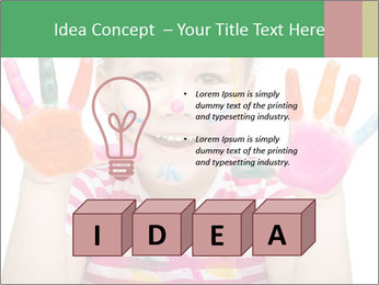 Creative Schoolgirl PowerPoint Template - Slide 80