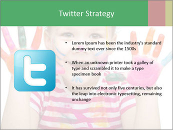 Creative Schoolgirl PowerPoint Template - Slide 9