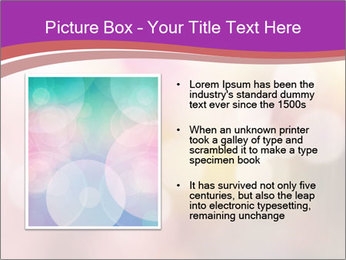 Pink Sparkles PowerPoint Template - Slide 13