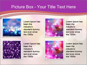 Pink Sparkles PowerPoint Template - Slide 14