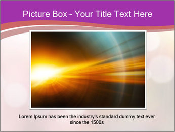 Pink Sparkles PowerPoint Template - Slide 16