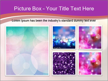 Pink Sparkles PowerPoint Template - Slide 19