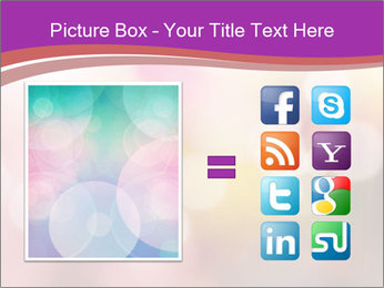 Pink Sparkles PowerPoint Template - Slide 21