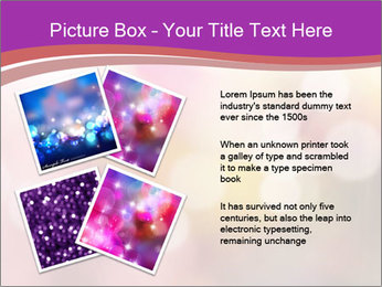 Pink Sparkles PowerPoint Template - Slide 23
