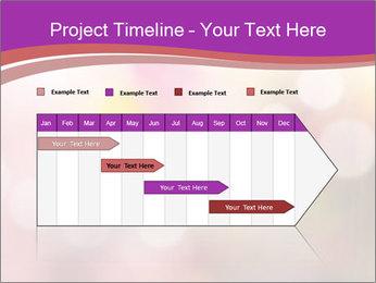 Pink Sparkles PowerPoint Templates - Slide 25