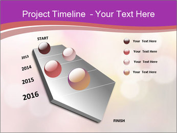 Pink Sparkles PowerPoint Template - Slide 26