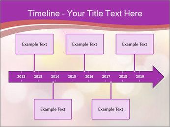Pink Sparkles PowerPoint Templates - Slide 28