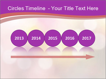 Pink Sparkles PowerPoint Template - Slide 29