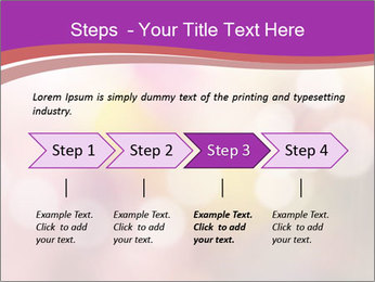 Pink Sparkles PowerPoint Template - Slide 4