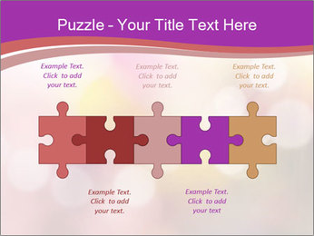 Pink Sparkles PowerPoint Templates - Slide 41