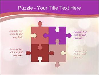 Pink Sparkles PowerPoint Templates - Slide 43