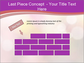 Pink Sparkles PowerPoint Template - Slide 46