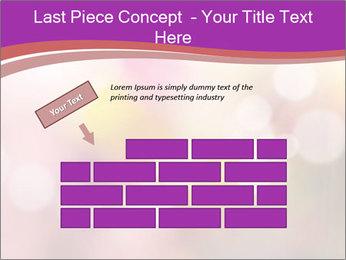 Pink Sparkles PowerPoint Templates - Slide 46