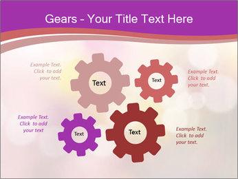 Pink Sparkles PowerPoint Templates - Slide 47